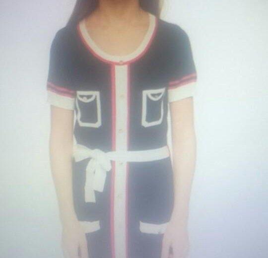 Платье для девочки, трикотаж. Фото 1. Казань.