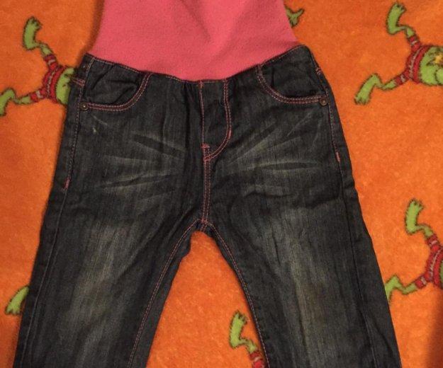 Утеплённые джинсы на девочку. Фото 1. Москва.