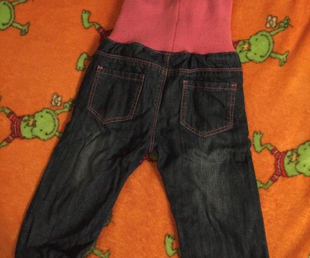 Утеплённые джинсы на девочку. Фото 2. Москва.