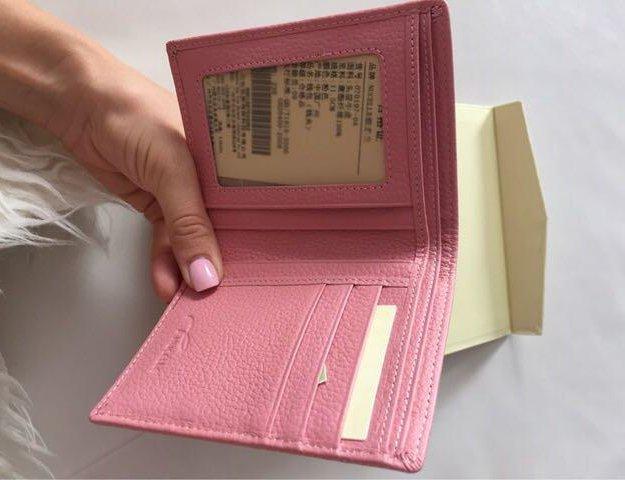 Новый кошелёк 100% нат.кожа. Фото 3. Одинцово.