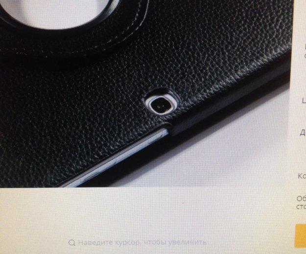 Чехол для samsung galaxy tab 3 10.1  кожаный чер. Фото 2. Москва.