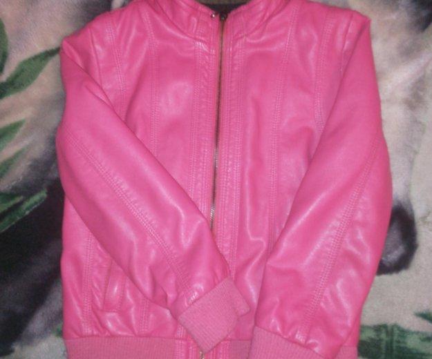 Кожаная куртка детская. Фото 2. Тольятти.