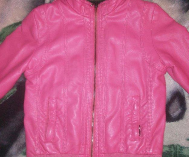 Кожаная куртка детская. Фото 3. Тольятти.
