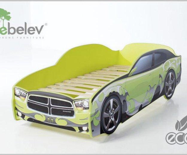 Кровать-машина додж (цвет зеленый). Фото 1. Москва.