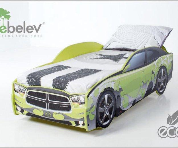 Кровать-машина додж (цвет зеленый). Фото 3. Москва.