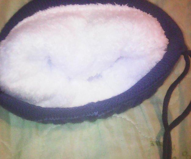 Тёплая шапка ( новая). Фото 2. Развилка.