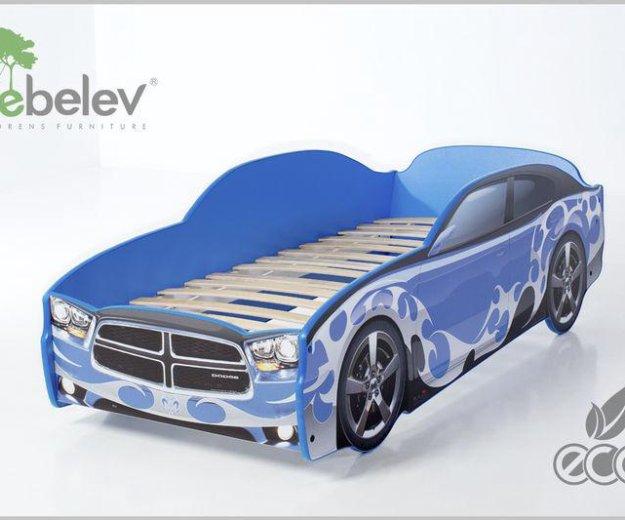 Кровать-машина додж (цвет синий). Фото 1. Москва.