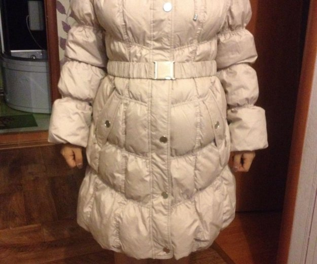 Зимний пуховик ,50 размер. Фото 1. Челябинск.