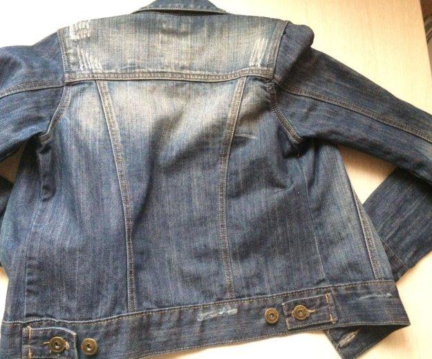 Стильная джинсовая куртка. Фото 2. Санкт-Петербург.