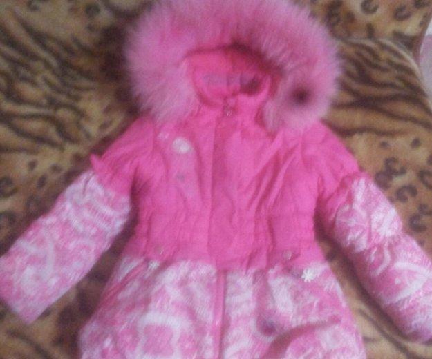 Куртка зима для девочки. Фото 2.