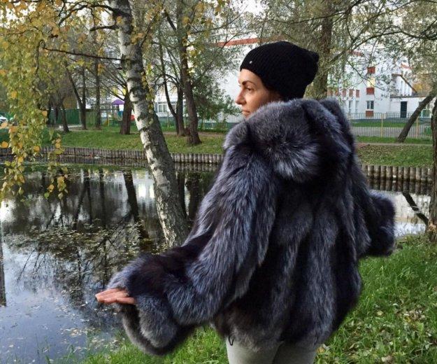 """Шуба из чернобурки """"летучая мышь"""". Фото 4. Москва."""