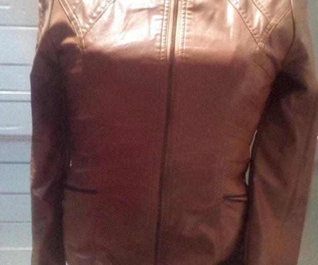 Продам кожануюю куртку. Фото 1. Усолье-Сибирское.