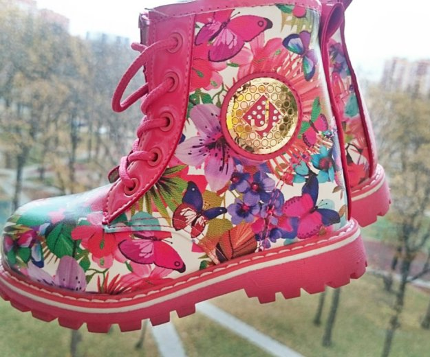 Новые ботинки дети. Фото 1. Коммунарка.