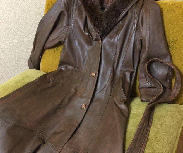 Натуральное пальто демисезонное. Фото 3. Волжский.