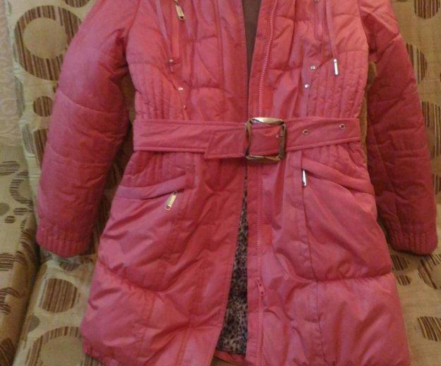 Пальто зимнее,152 см. Фото 1.
