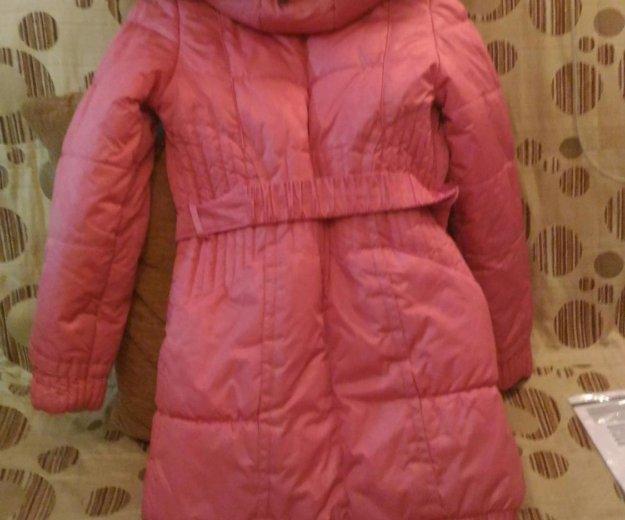 Пальто зимнее,152 см. Фото 2.