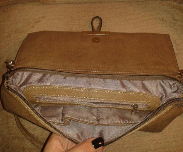 Новая бежевая сумка. Фото 1. Москва.