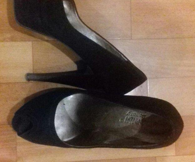 Черные туфли. Фото 1. Тверь.