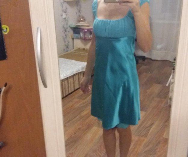 Атласное платье. Фото 1. Уфа.