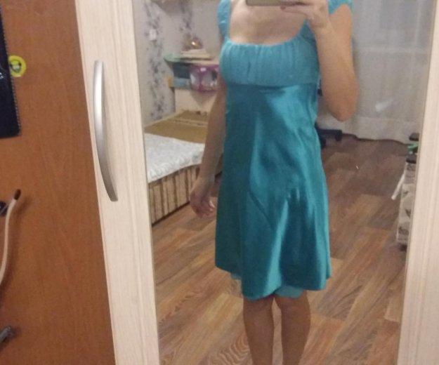 Атласное платье. Фото 2. Уфа.