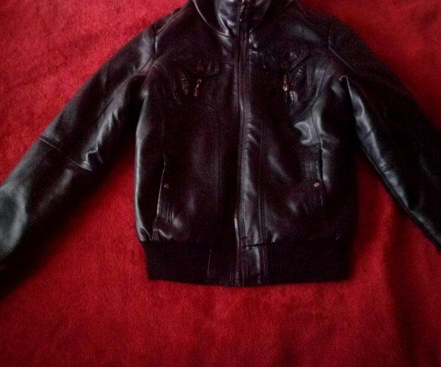 Новая кожаная куртка унисекс. Фото 1. Москва.