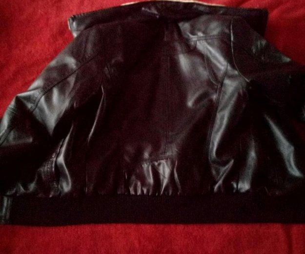 Новая кожаная куртка унисекс. Фото 2. Москва.