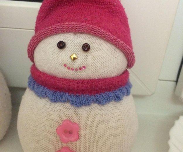 Снеговик. Фото 1. Красноярск.