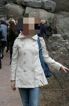 Тренч женский. Фото 1. Санкт-Петербург.