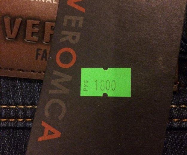 Продам абсолютно новые мужские утеплённые джинсы. Фото 3. Зеленоград.
