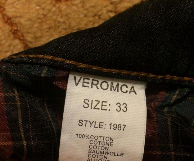 Продам абсолютно новые мужские утеплённые джинсы. Фото 4. Зеленоград.