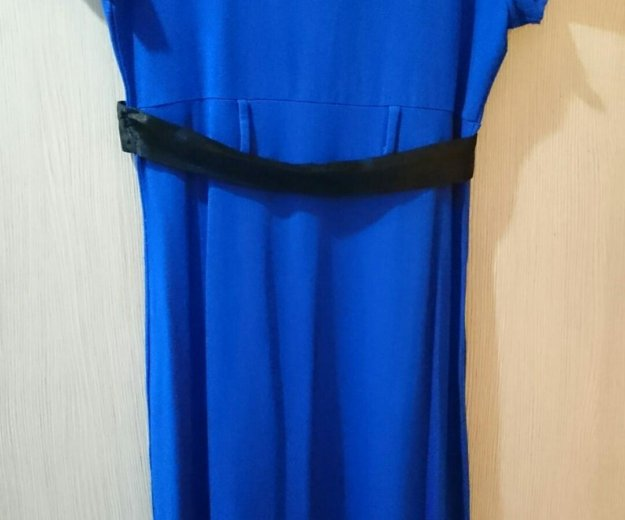 Платье синее ирида. Фото 3.