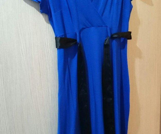 Платье синее ирида. Фото 4.