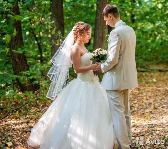 Свадебное платье. Фото 4. Ульяновск.