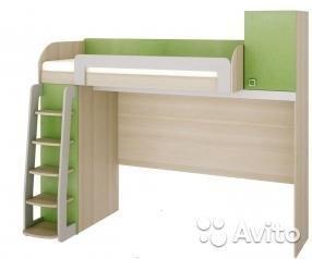 Детская кровать-чердак. Фото 1. Волгоград.