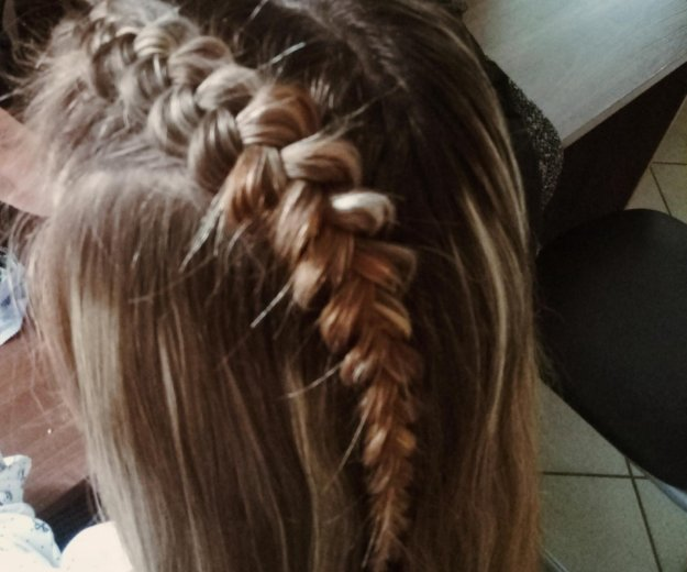 Прически на основе кос. Фото 2. Тверь.