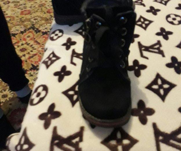 Замшевые ботинки для мальчика. Фото 2. Саратов.