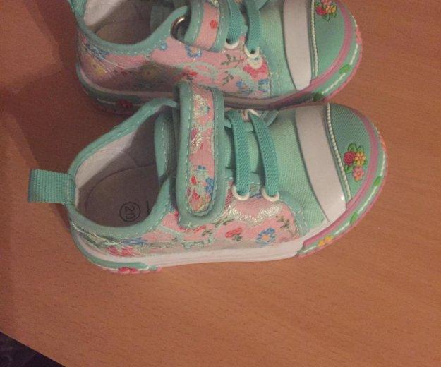 Кроссовки на девочку. Фото 1. Зеленоград.