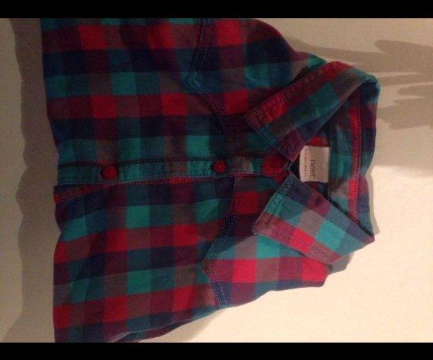 Рубашка клетчатая. Фото 3. Тамбов.