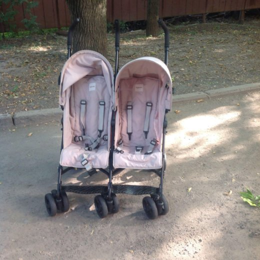 Прогулочная коляска трость для двойни. Фото 4. Ростов-на-Дону.