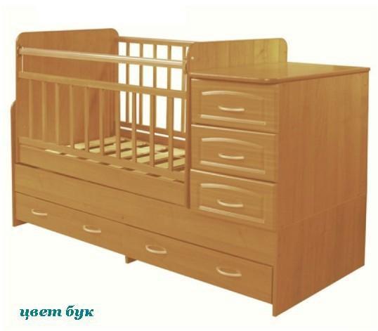 Кроватка с аксами для ребенка. Фото 1. Старотитаровская.
