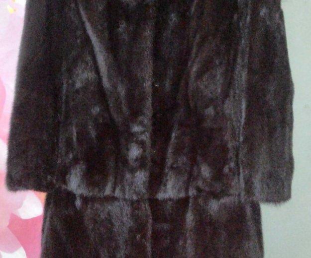 Шуба норковая, классный фасон. Фото 1. Саратов.