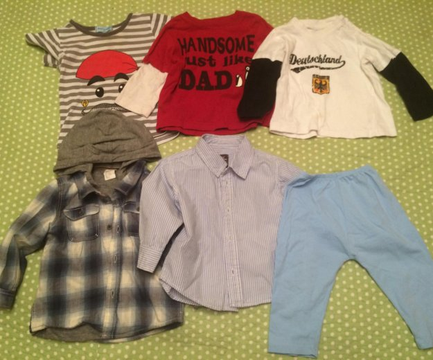 Фирменная одежда на мальчика 1-2 года. Фото 1. Москва.