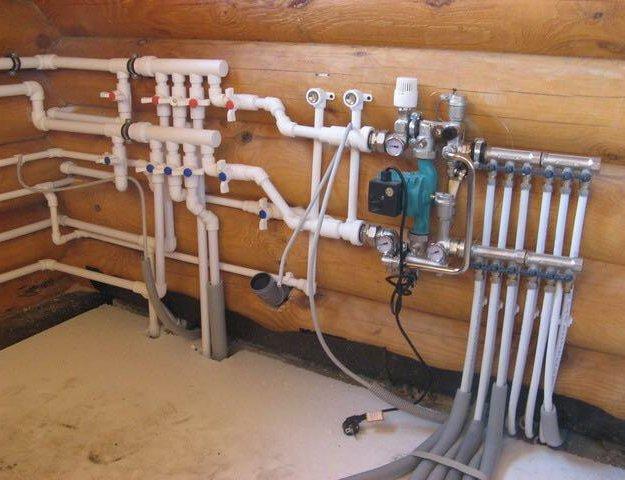 Отопление, тёплый пол, водопровод, сварочные работ. Фото 2. Оренбург.
