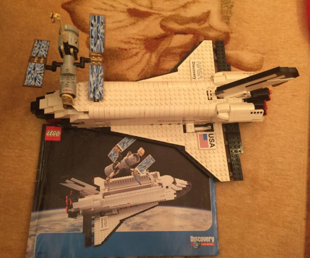 Lego 7470 discovery space шаттл. Фото 1. Москва.