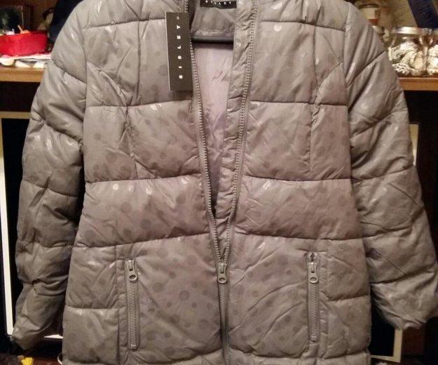 Новая куртка sisley 130 см 7-8 лет. Фото 1. Москва.