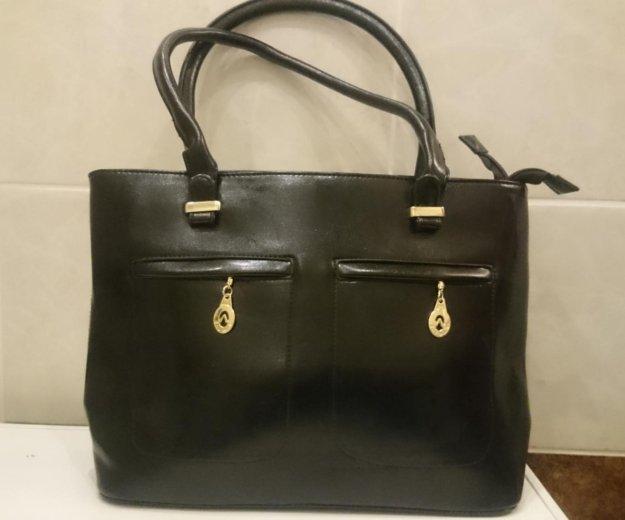 Женская сумка черного цвета. новая. Фото 1. Москва.