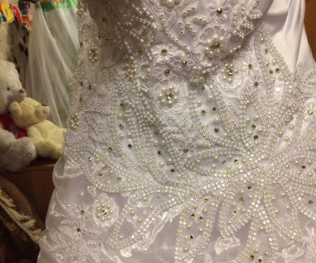 Платье белое. Фото 2.