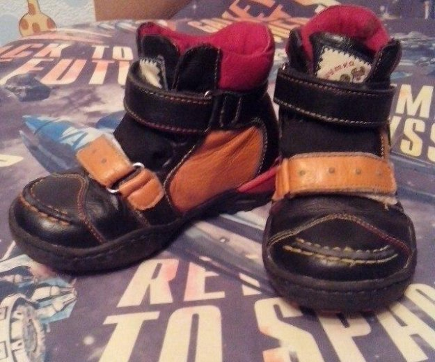Ботинки осенние. Фото 1. Йошкар-Ола.