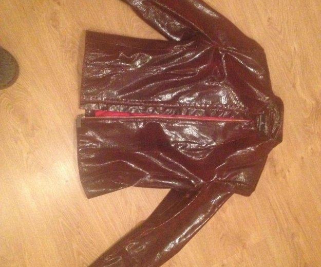 Куртка кожанная. Фото 1. Бердск.