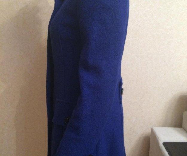 Пальто (синее). Фото 1. Тольятти.